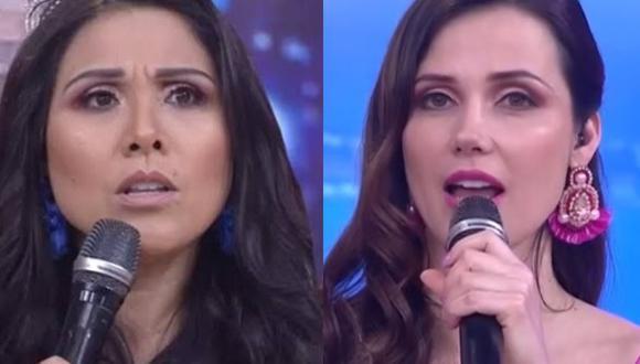 Maju Mantilla y Tula Rodríguez critican comunicado de esposo de Sofía Franco. (Foto: captura de video)