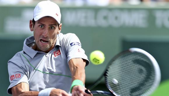 Novak Djokovic, el tenista más peligroso del circuito mundial