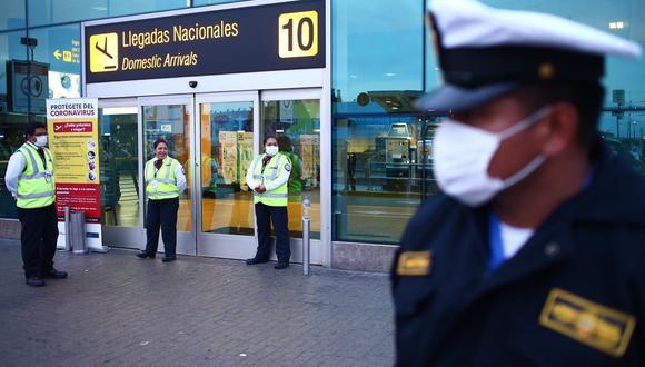 Nuestro primer terminal aéreo fue cerrado por quince días, desde el lunes pasado. (Foto: GEC)
