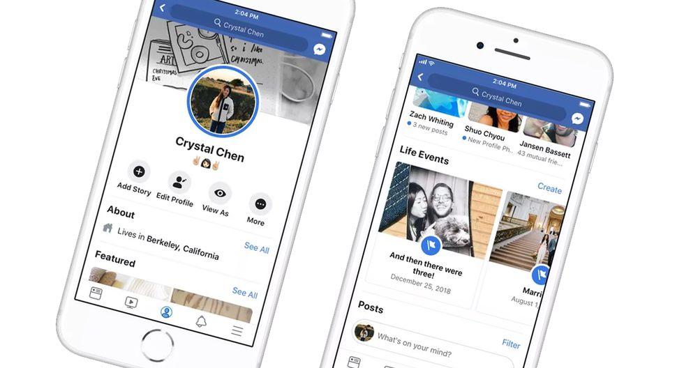 ¿Quieres colocar como foto de perfil un video? Conoce cómo hacerlo en Facebook. (Foto: Facebook)