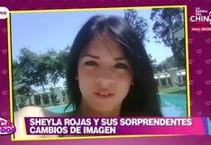 EBT: Sheyla Rojas y sus increíbles cambios de imagen durante los últimos años