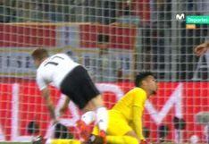 Perú vs. Alemania: Gallese evitó gol de Reus con notable atajada [VIDEO]