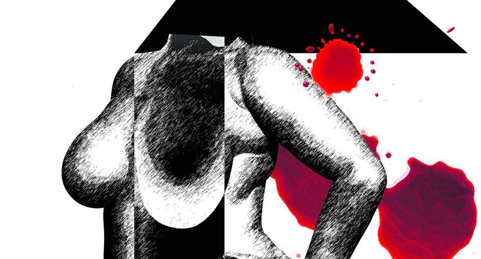 """""""El Estado debe dejar de contar las tentativas de feminicidio como si fuera un termómetro de violencia. Es un mal indicador, a tal punto que casi ningún otro país las contabiliza"""". (Ilustración: Jhafet Pianchachi)"""