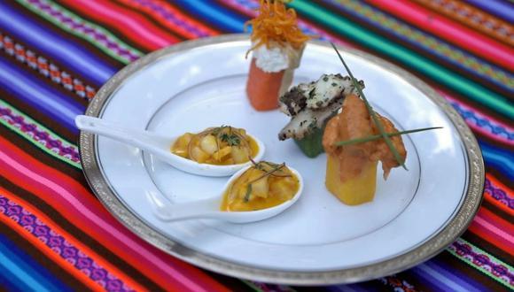 La gastronomía peruana goza de reconocimiento internacional.