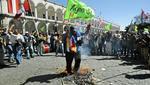 Protestas en Arequipa por el proyecto minero Tía María. (Foto: GEC)