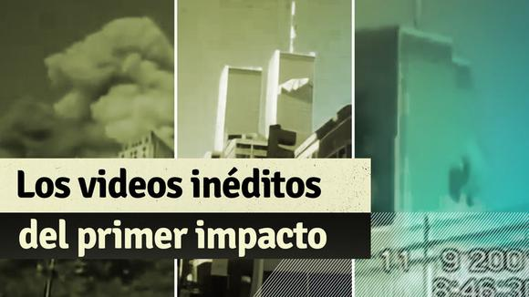 September 11: Unpublished videos of the first impact at the World Trade Center