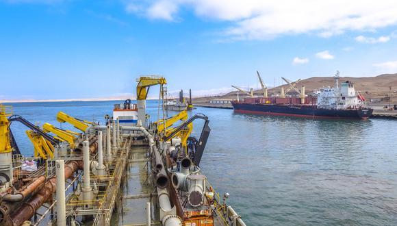 Entre las modificaciones que buscaba el consorcio, se encontraba la de crear un almacén de concentrados de minerales. (Foto: Facebook Terminal Portuario Paracas)