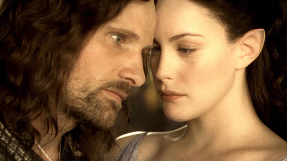 La historia de amor de Aragorn y Arwen pudo ser eliminada - 1