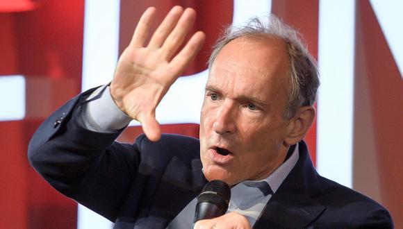 Tim Berners-Lee, padre de la World Wide Web. (Foto: AFP)