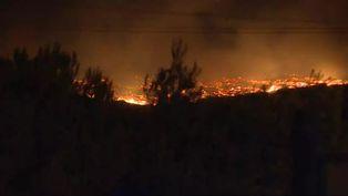 Al menos 2.700 evacuados por un incendio en el sur de Francia