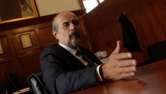 Vocero alterno del Apra, Mauricio Mulder, consideró que hay indicios suficientes para continuar y profundizar la investigación contra el presidente. (Foto: Piko Tamashiro / El Comercio)