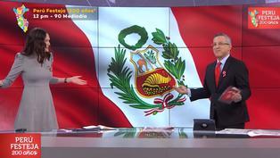 Pedro Tenorio comete error en vivo al cambiar de nombre a Lorena Álvarez
