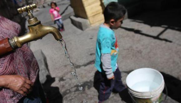 Se pide que la población use el agua con responsabilidad y prudencia. (El comercio)