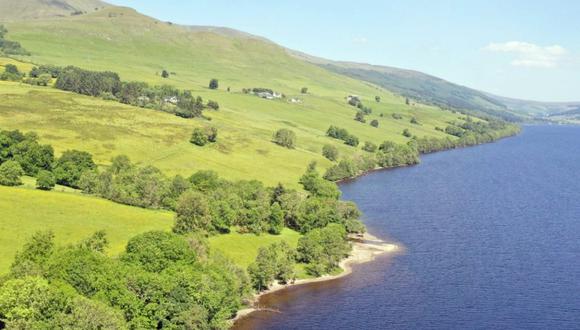 The Old Village of Lawers se encuentra en Escocia y ha estado deshabitada por casi un siglo. (Foto: Goldcrest Land and Forestry Group)
