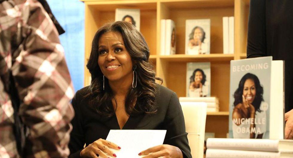 Michelle Obama, la esposa del expresidente Barack Obama, sorprende con revelaciones nunca hechas sobre su infancia, su experiencia en política, el racismo, entre otros temas. (Foto: Instagram @michelleobama)