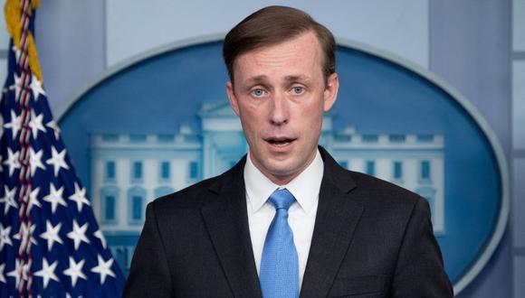 Jake Sullivan, asesor de seguridad nacional del presidente de Estados Unidos, Joe Biden. (Foto: SAUL LOEB / AFP).
