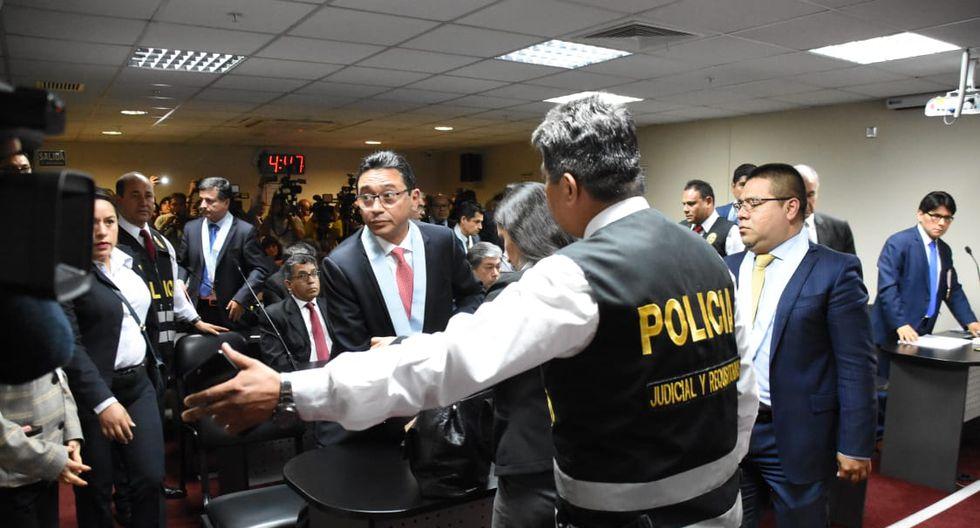 Abogado Humberto Abanto recibió 18 meses de prisión preventiva. (Foto: Poder Judicial)