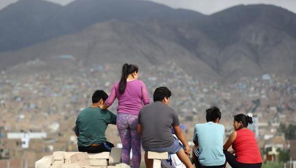 Pobreza en el Perú tendrá una nueva medición que está siendo elaborada por el Ejecutivo. (Foto: GEC)