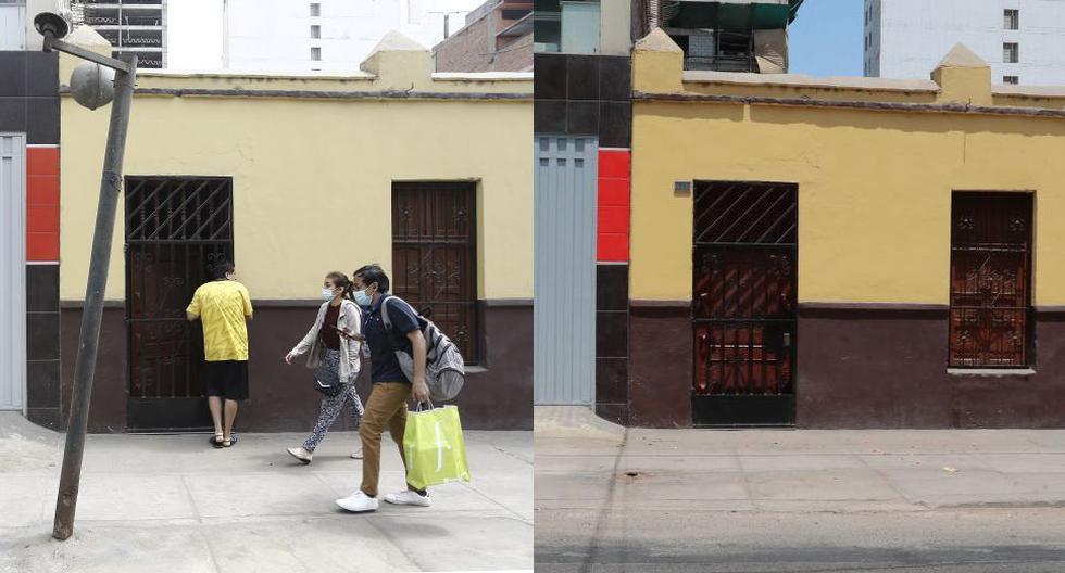 La Municipalidad de Breña retiró un peligroso poste del jirón Castrovirreyna tras la denuncia de El Comercio. (Fotos: Francisco Neyra y Lino Chipana/GEC)