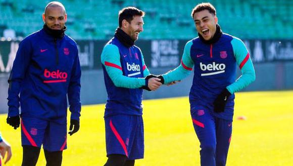 Lionel Messi se perdió el partido de semifinales ante Real Sociedad por unas molestias. (Foto: FC Barcelona)