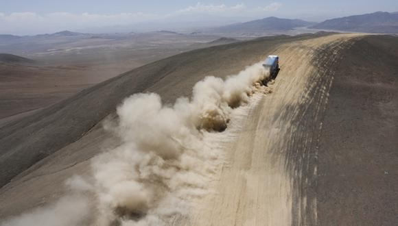 Camión del Dakar tenía 1.400 kilos de cocaína en las ruedas