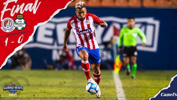 Con solitario gol de Nicolás Ibáñez, el cuadro rojiblanco se quedó con el triunfo en casa por la jornada 7 de la Liga MX. (Foto: Twitter ASL)