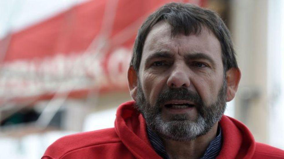 """""""La desesperación es muy grande, la incertidumbre también"""", asegura Óscar Camps. Foto: Getty images, vía BBC Mundo"""
