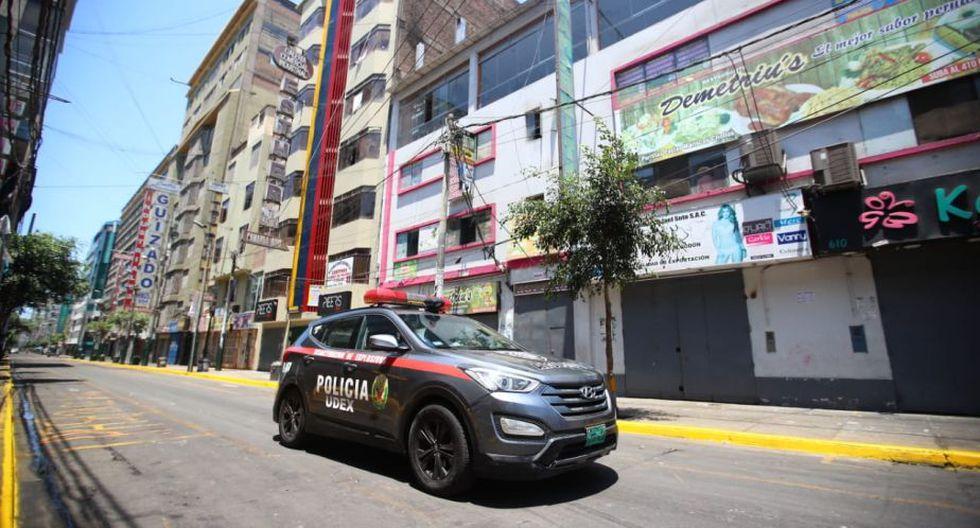La Policía resguarda la zona. (Foto: Giancarlo Ávila)