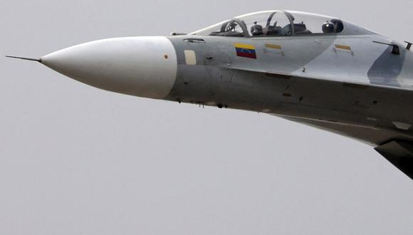 Guyana denuncia incursión de aviones de combate de Venezuela en su espacio aéreo. (Foto referencial, JUAN BARRETO / AFP).
