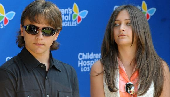 Paris Jackson y su hermano mayor se reunieron. (Foto. AFP)