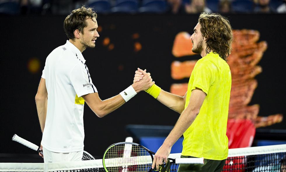 Resultado de imagen para Danii Medvedev se cita con Djokovic para la final del abierto de australia