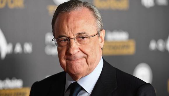 El presidente del Real Madrid no viajará con el conjunto merengue por duelo de la Champions League.(Foto: AFP)