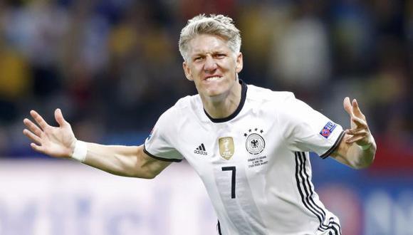 Bastian Schweinsteiger se retira de la selección alemana