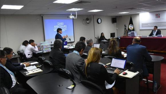 En la audiencia de hoy estuvo presente Horacio Cánepa, quien no se opuso a la comparecencia pedida por la fiscalía. (Foto: Difusión)