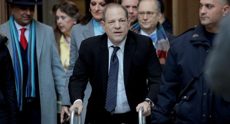 Weinstein, de 67 años, padre de cinco hijos y dos veces divorciado, puede ser sentenciado a una pena máxima de cadena perpetua. (Foto: Reuters).