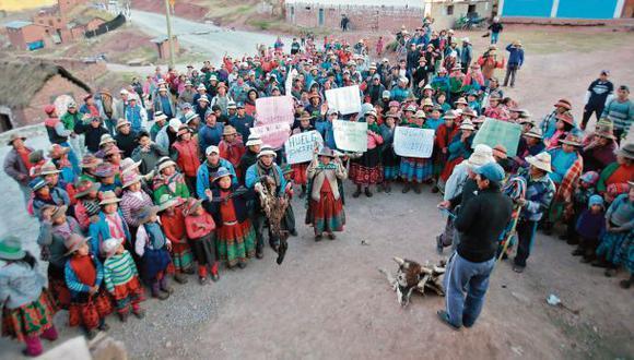 Se reactiva el conflicto por proyecto minero Las Bambas