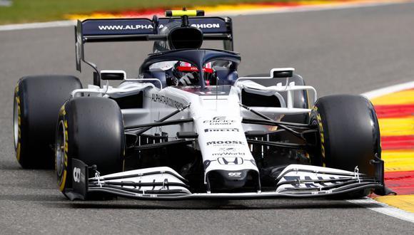 Pierre Galsy de AlphaTauri se impuso en Monza en el GP de Italia 2020 de la Fórmula 1. (Foto: AFP)