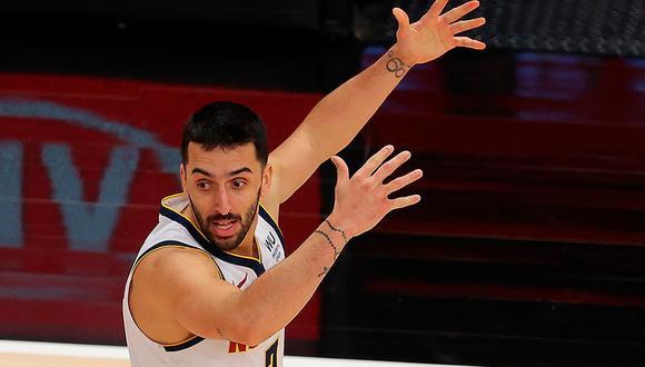 Facundo Campazzo está promediando 5.4 puntos, 2.2 asistencias y 1.1 rebotes en la temporada regular de la NBA