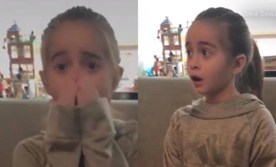 Facebook: la emotiva reacción de la niña, fanática de Drake, al saber que encontraron donante de corazón