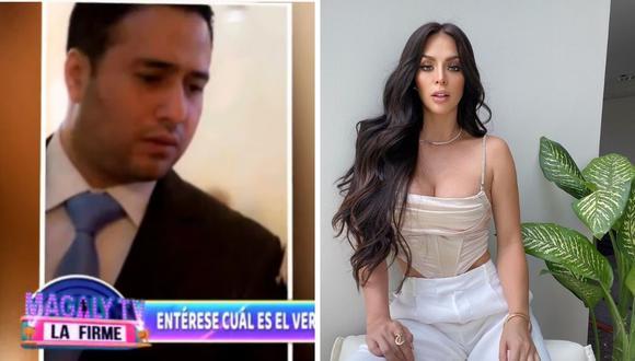 """La pareja de Sheyla Rojas, """"Sir Winston"""" en verdad se llama Luis Miguel. (Foto: Instagram @_sheyoficial / Captura YouTube)"""