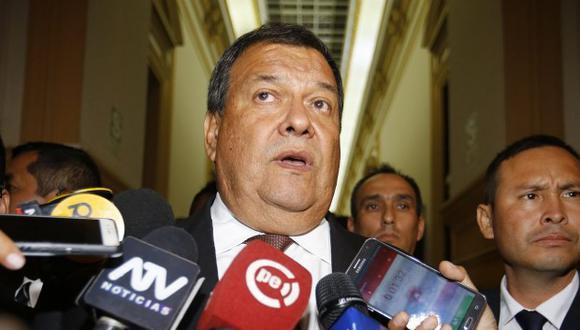 Jorge Nieto explicó las razones que lo llevaron a renunciar al Gabinete Ministerial en enero del 2018. (Foto: El Comercio)