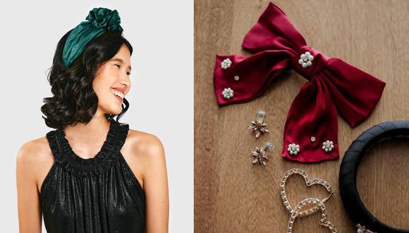Las marcas peruanas Butrich y Amanda Headwear tienen opciones perfectas en telas como el satén y terciopelo. (Fotos: Butrich/ IG @amanda_headwear)