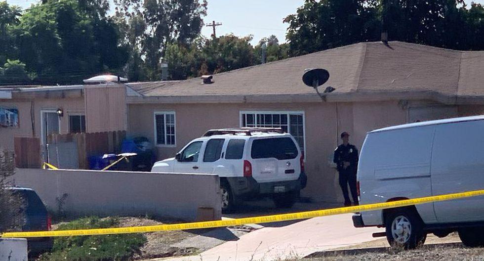 Tiroteo en una casa en San Diego, California, deja cinco muertos, entre ellos tres niños. (Foto: AP)