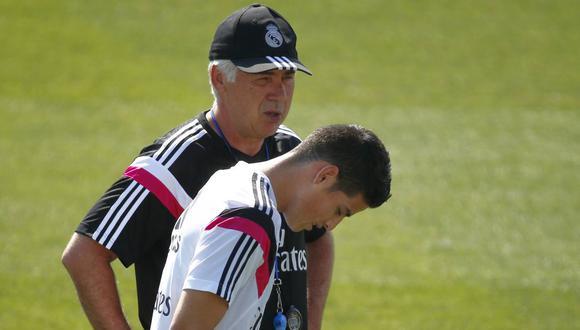 James Rodríguez sigue en los planes del Nápoli de Carlo Ancelotti. (Foto: Reuters)