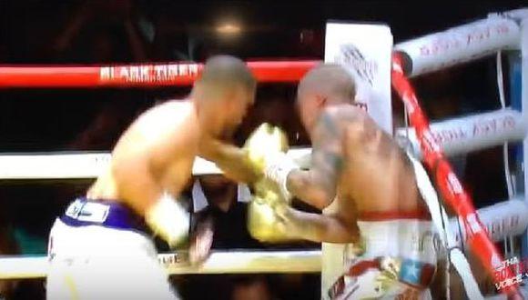 YouTube: boxeador agrede a entrenador rival en pelea [VIDEO]