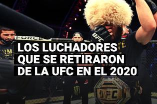 Khabib Nurmagomedov y los grandes luchadores que se retiraron de la UFC en el 2020