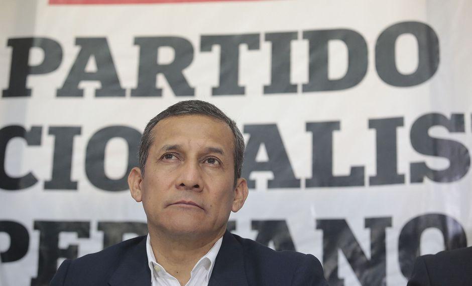 El ex presidente Ollanta Humala tiene actualmente impedimento de salida del país. (Foto: Archivo El Comercio)