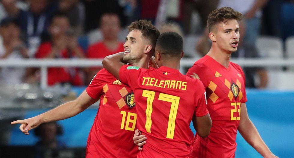 Inglaterra y Bélgica decidieron reservar a sus habituales titulares para los octavos de final en Rusia 2018. El único gol del partido lo marcó Adnan Januzaj. (Foto: EFE)