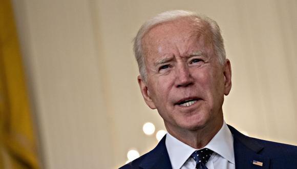 El presidente de Estados Unidos, Joe Biden, habla en el Salón Este de la Casa Blanca en Washington, DC, Estados Unidos. (Foto: Andrew Harrer / Bloomberg).