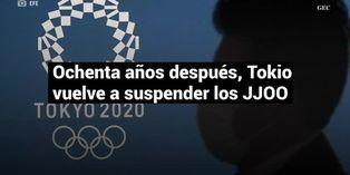 Luego de ochenta años, Tokio vuelve a suspender los Juegos Olímpicos